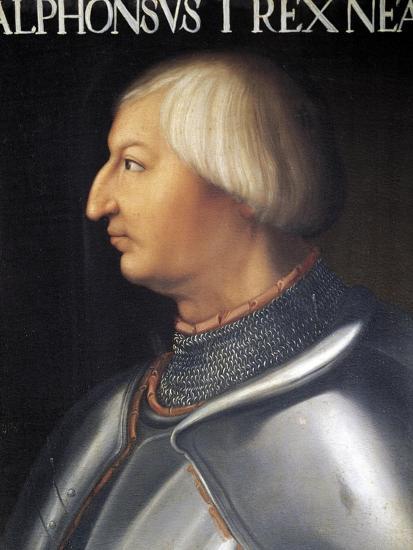 Portrait of Alfonso V of Aragon--Giclee Print