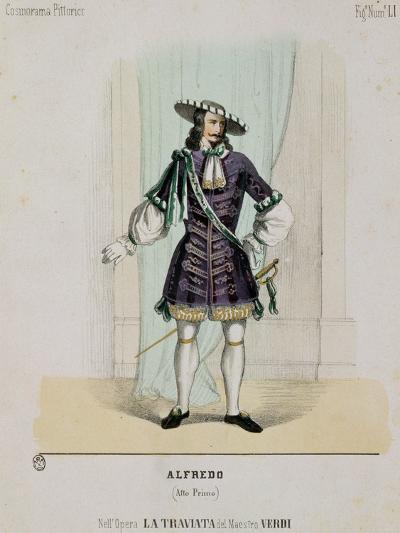 Portrait of Alfredo from the Opera 'La Traviata'--Giclee Print