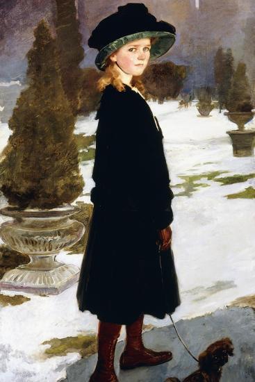 Portrait of Alice Davison-Cecilia Beaux-Giclee Print