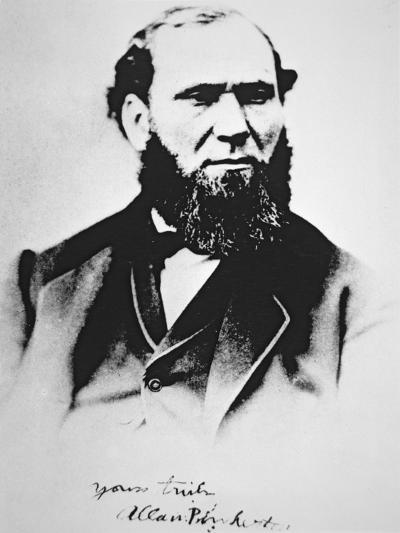 Portrait of Allan Pinkerton, founder of Pinkerton's National Detective Agency in 1850--Giclee Print