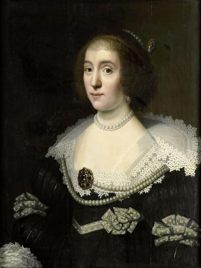 Portrait of Amalia--Art Print