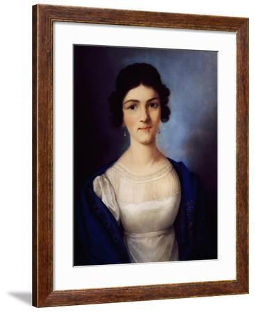 Portrait of Amalie Sebald--Framed Giclee Print