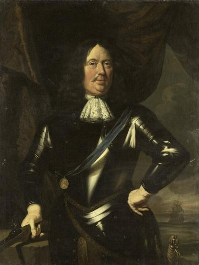 Portrait of an Admiral, Possibly Adriaen Banckert, Vice-Admiral of Zeeland--Art Print