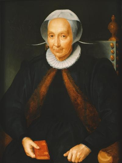 Portrait of an Elderly Lady, 1615--Giclee Print