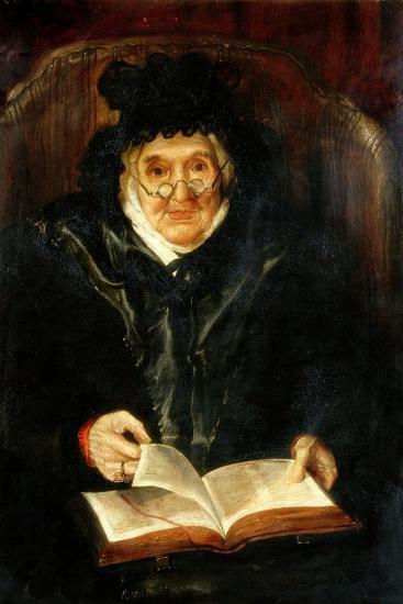 Portrait of an Old Lady, 1823-Andrew Morton-Giclee Print