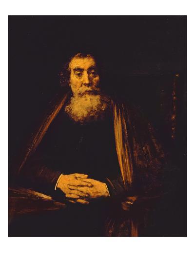 Portrait of an Old Man, 1665-Rembrandt van Rijn-Giclee Print