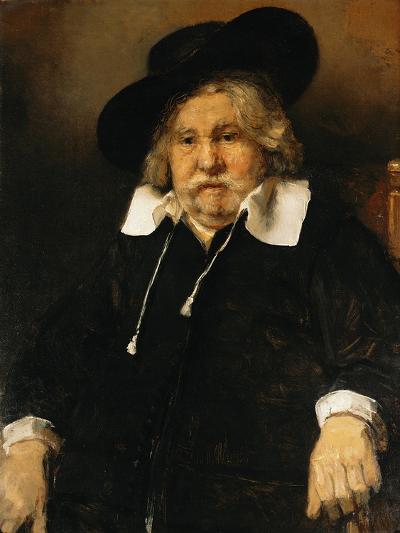 Portrait of an Old Man, 1667-Rembrandt van Rijn-Giclee Print