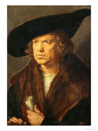 Portrait of an Unknown Man, 1524-Albrecht D?rer-Giclee Print