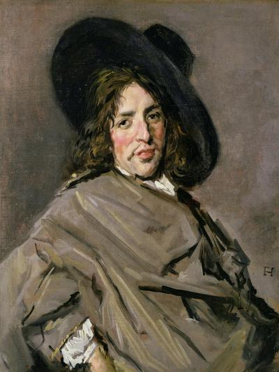 Portrait of an Unknown Man, 1660-63-Frans Hals-Giclee Print