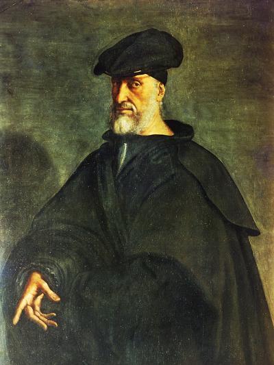 Portrait of Andrea Doria--Giclee Print