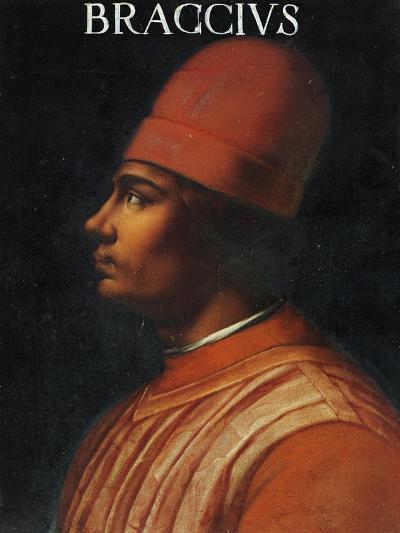Portrait of Andrea Fortebracci, also known as Braccio Da Montone--Giclee Print