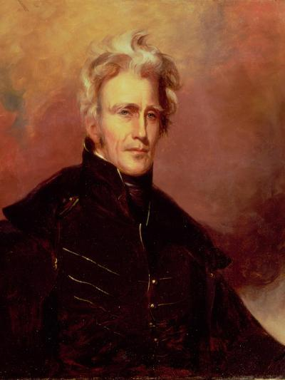 Portrait of Andrew Jackson, 1858-Thomas Sully-Giclee Print