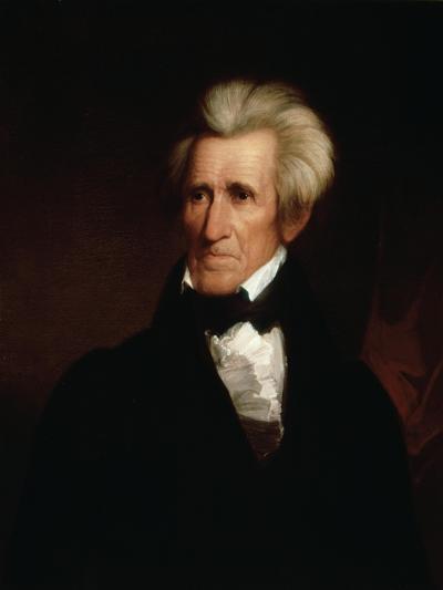 Portrait of Andrew Jackson--Giclee Print