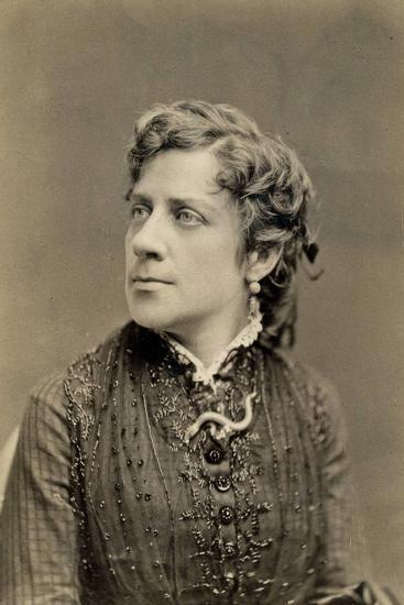 Portrait of Anna Elizabeth Dickinson C.1873--Photographic Print