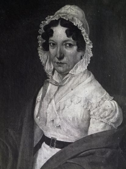 Portrait of Anna Guidarini, Mother of Italian Composer Gioachino Rossini--Giclee Print