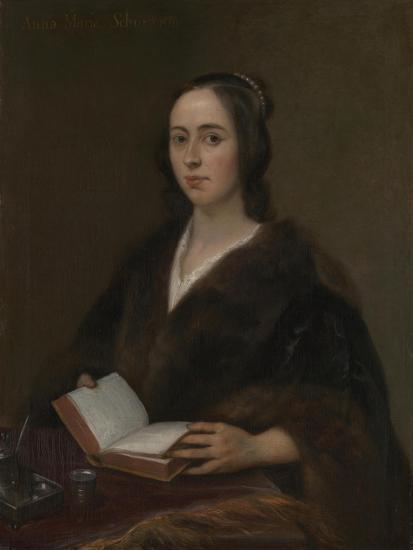 Portrait of Anna Maria Van Schurman (1607-167), 1649-Jan Lievens-Giclee Print