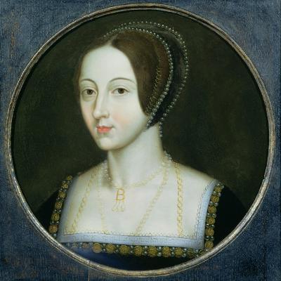 Portrait of Anne Boleyn (C.1507-36), C.1600--Giclee Print