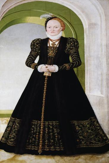 Portrait of Anne of Denmark, Queen of England-Ludovico Ariosto-Giclee Print