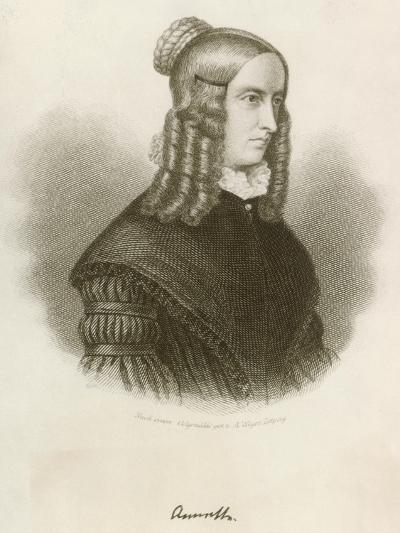 Portrait of Annette Von Droste-Hulshoff--Giclee Print