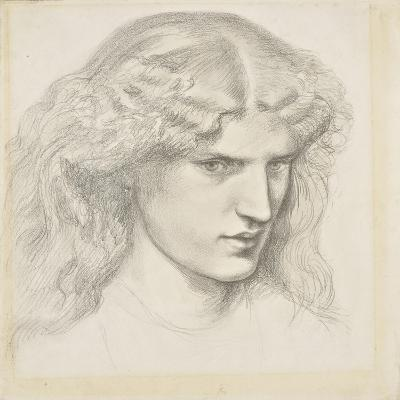 Portrait of Annie Miller, 1860s-Dante Gabriel Charles Rossetti-Giclee Print