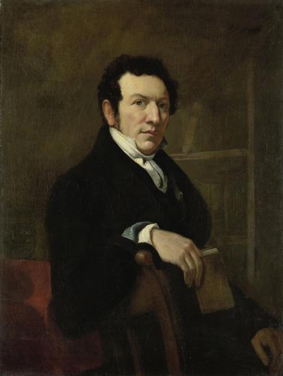 Portrait of Anthonie Van Der Hout-Christiaan Julius Lodewijk Portman-Art Print