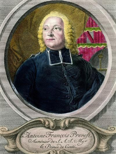 Portrait of Antoine Francois Prevost D'exiles, known as Abbe Prevost--Giclee Print