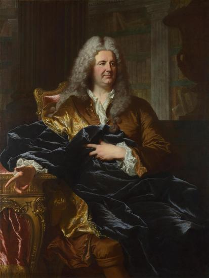 Portrait of Antoine Pâris, 1724-Hyacinthe François Honoré Rigaud-Giclee Print
