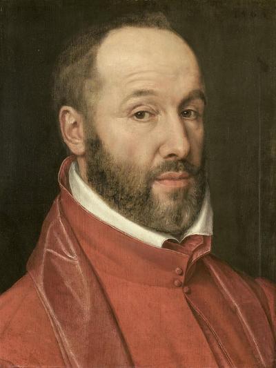 Portrait of Antoine Perrenot, Cardinal De Granvelle, Minister to Charles V and Philip II--Art Print