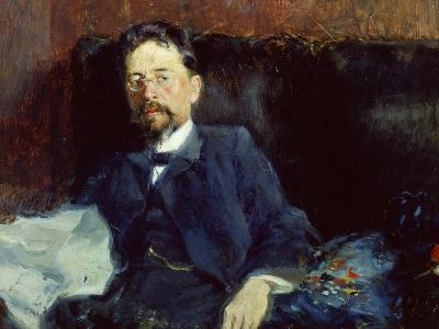 Portrait of Anton Chekhov-Peter Alexandrovich Nilus-Giclee Print