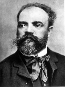 Portrait of Antonin Dvorak, Czech Composer, 1841-1904