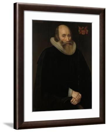 Portrait of Antonius Antonides Van Der Linden-Hendrik Meerman-Framed Art Print