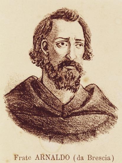 Portrait of Arnold of Brescia--Giclee Print
