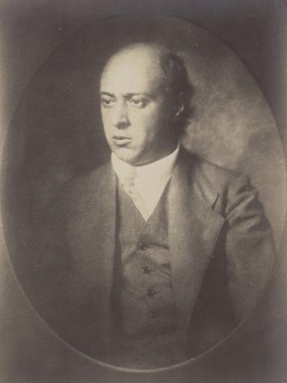 Portrait of Arnold Schoenberg--Photographic Print