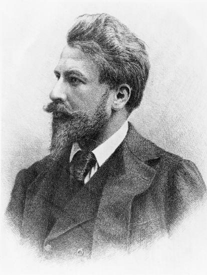 Portrait of Arthur Schnitzler--Giclee Print