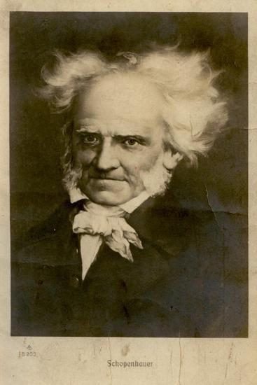 Portrait of Arthur Schopenhauer (1788-186), C. 1910--Giclee Print