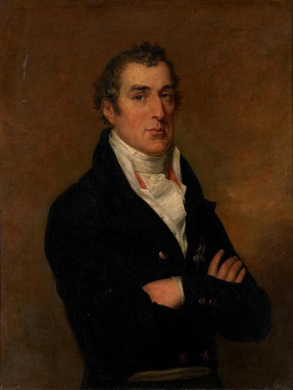 Portrait of Arthur Wellesley (1769-185), 1st Duke of Wellington-George Dawe-Giclee Print
