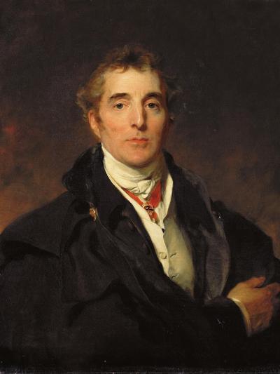 Portrait of Arthur Wellesley, 1st Duke of Wellington, C.1821-Thomas Lawrence-Giclee Print