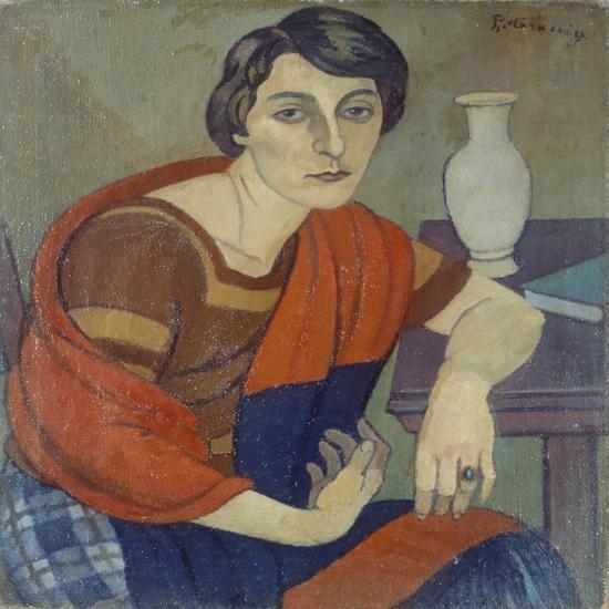 Portrait of Artist's Wife by Piero Marussig--Giclee Print