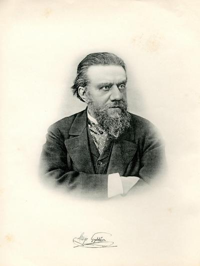 Portrait of Astronomer Hugo Gylden (1841-189), 1903--Giclee Print