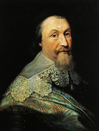 Portrait of Axel Oxenstierna of Sodermore--Giclee Print