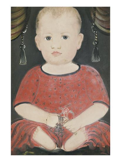 Portrait of Baby Woods, c.1840-William Matthew Prior-Giclee Print