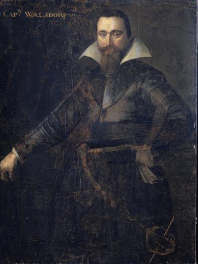 Portrait of Bartholomeus Andrio Walsdorffer--Art Print
