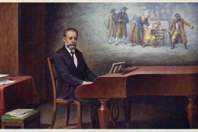 Portrait of Bedrich Smetana--Giclee Print