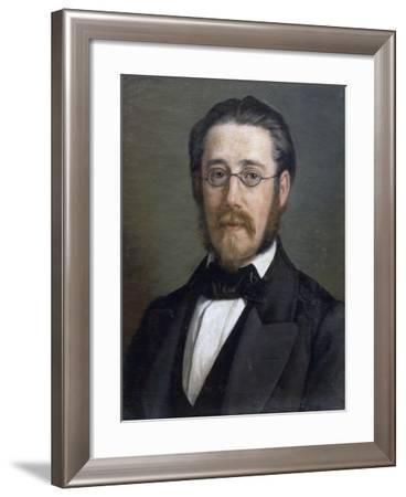 Portrait of Bedrich Smetana--Framed Giclee Print