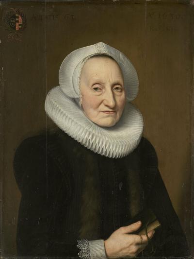 Portrait of Belia Claesdr- Bartholomeus Sarburgh & Willem Bartsius-Art Print