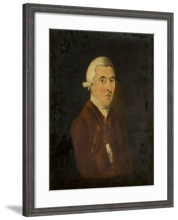 Portrait of Benjamin Gibson--Framed Giclee Print