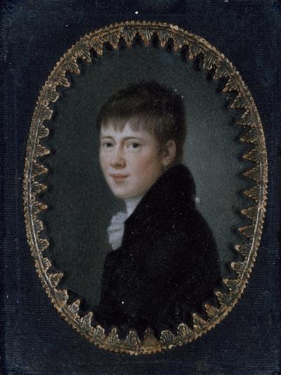 Portrait of Bernd Heinrich Wilhelm Von Kleist (Frankfurt Oder--Giclee Print