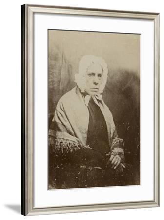 Portrait of Bettie Burns--Framed Photographic Print