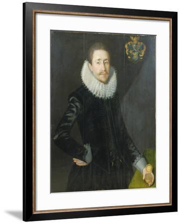 Portrait of Bocke Jochems Hoppers, 1622-Jan De Salle-Framed Giclee Print
