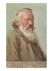 Portrait of Brahms